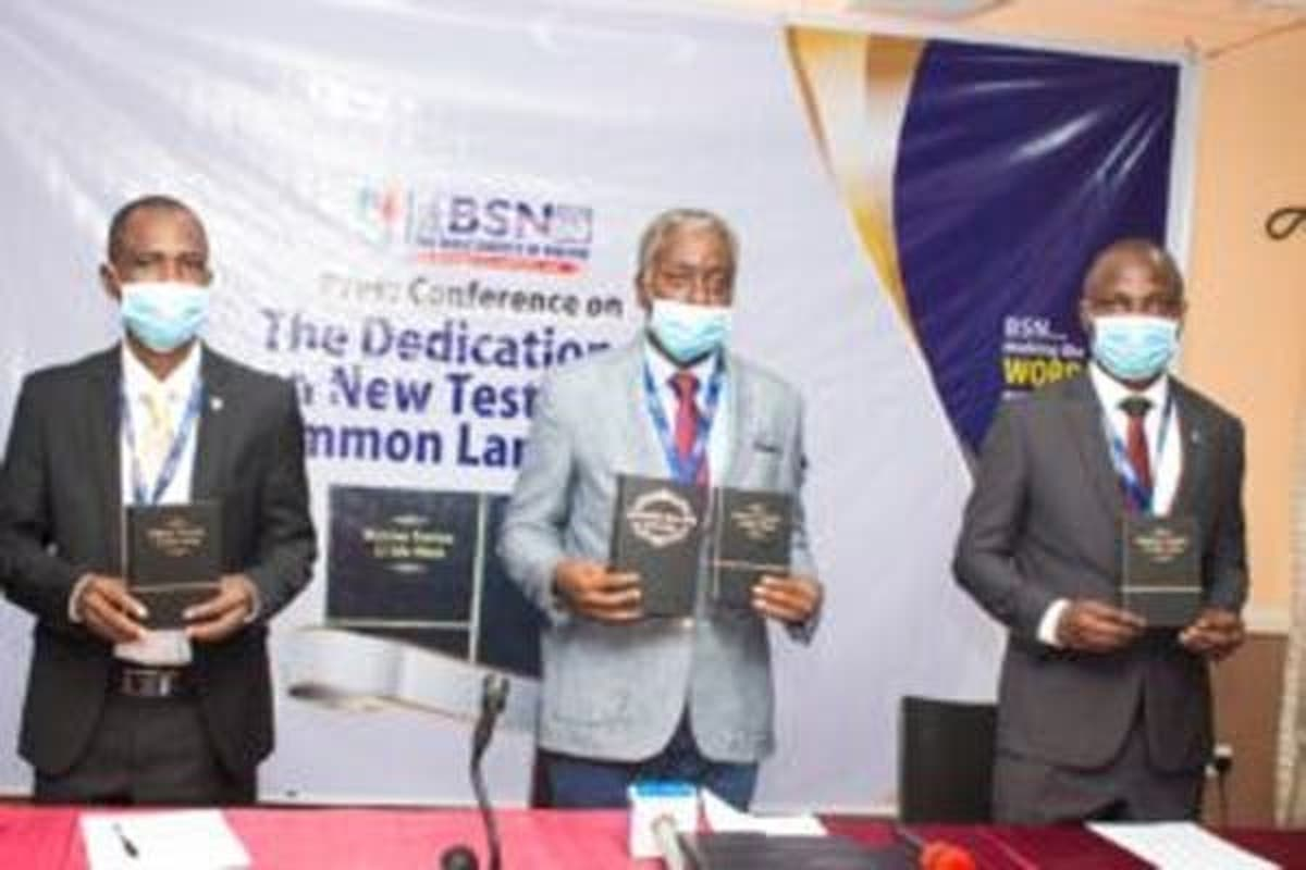 BSN Unveils Bible In Igala, Okun Languages