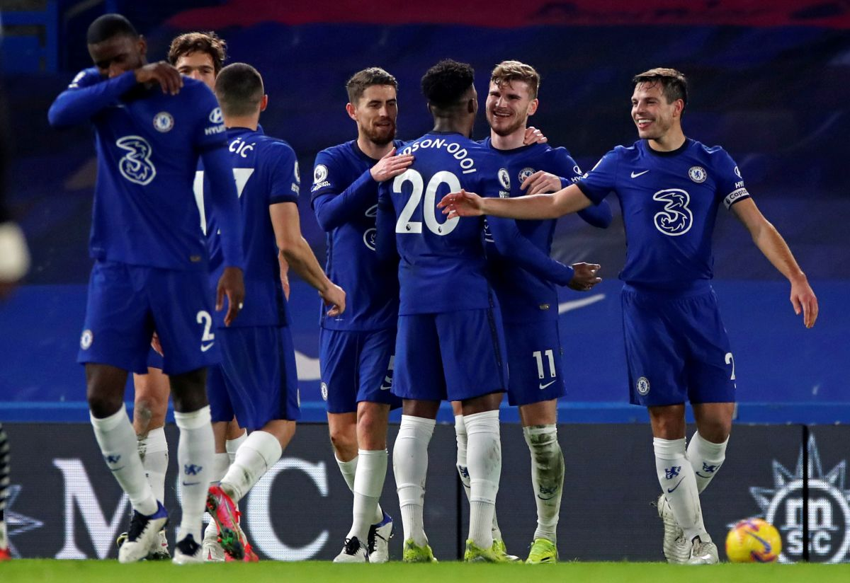 Werner ends goal drought as Chelsea displace Liverpool