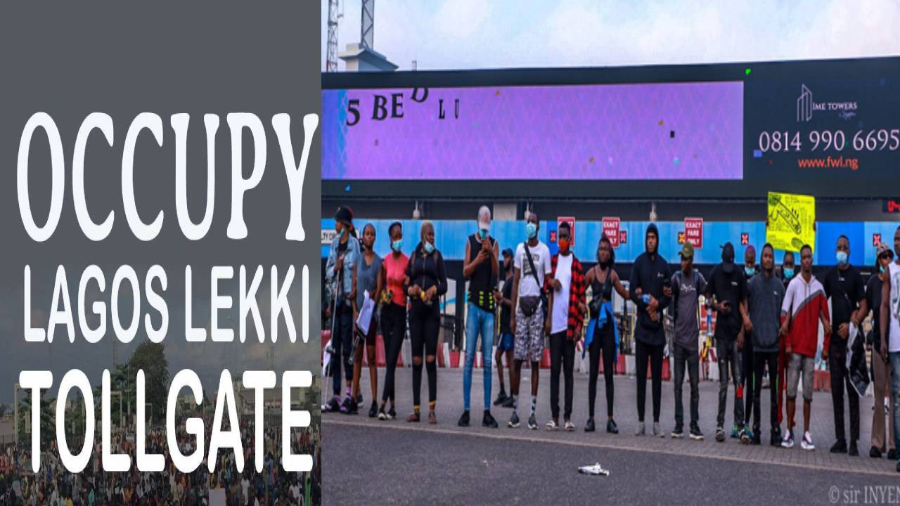 #EndSARS Protesters To Storm Lekki Tollgate Over Re-opening