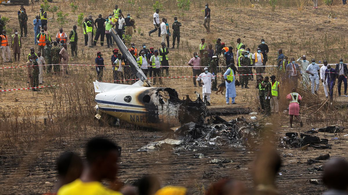 Air Force Plane Crash Victims For Burial Tomorrow