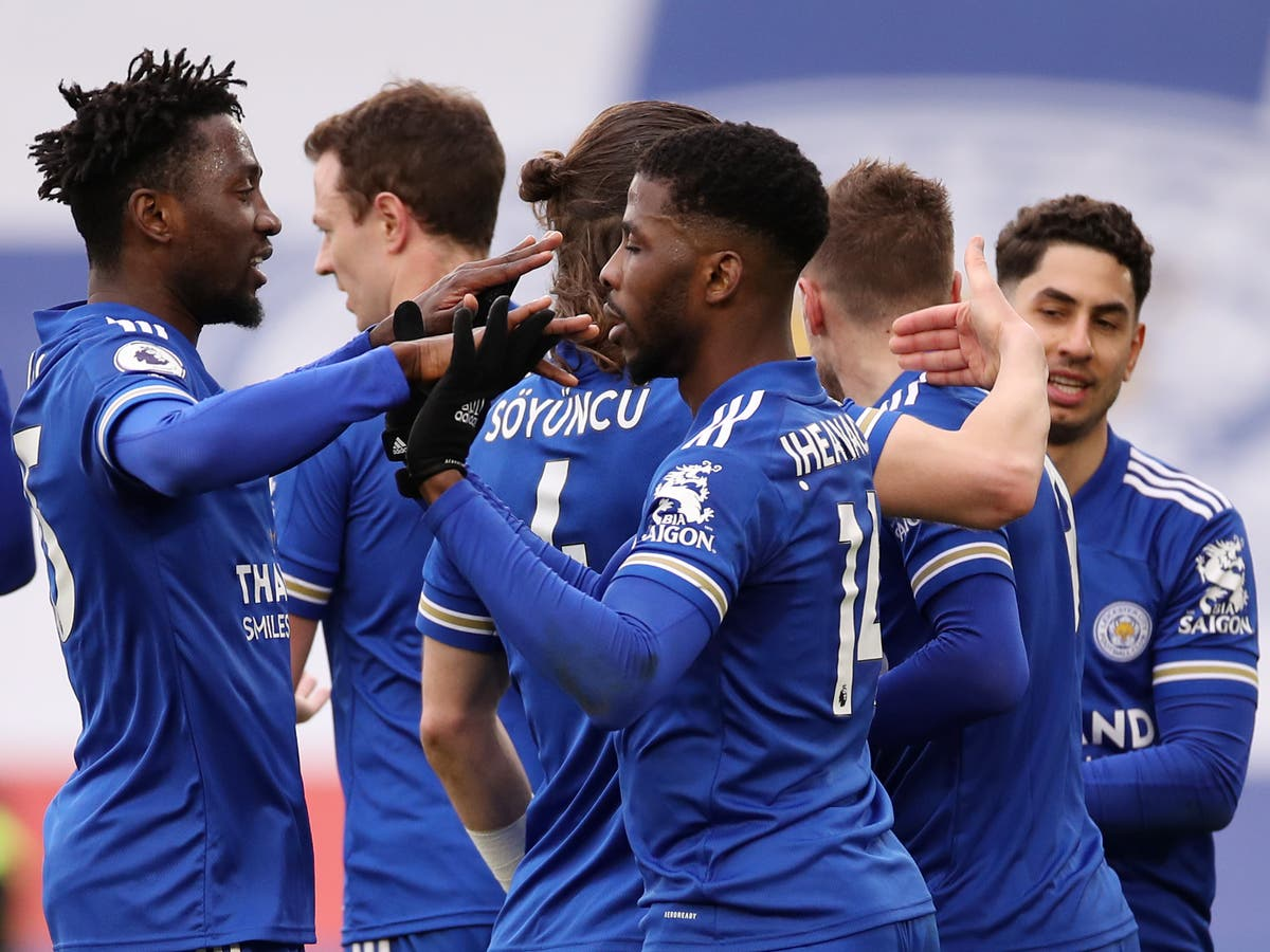 Iheanacho hit a hat-trick as Leicester thrashed doomed Sheffield United