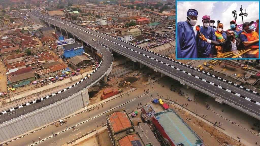 Traffic Relief In Agege As Sanwo-Olu Commissions Pen Cinema Flyover