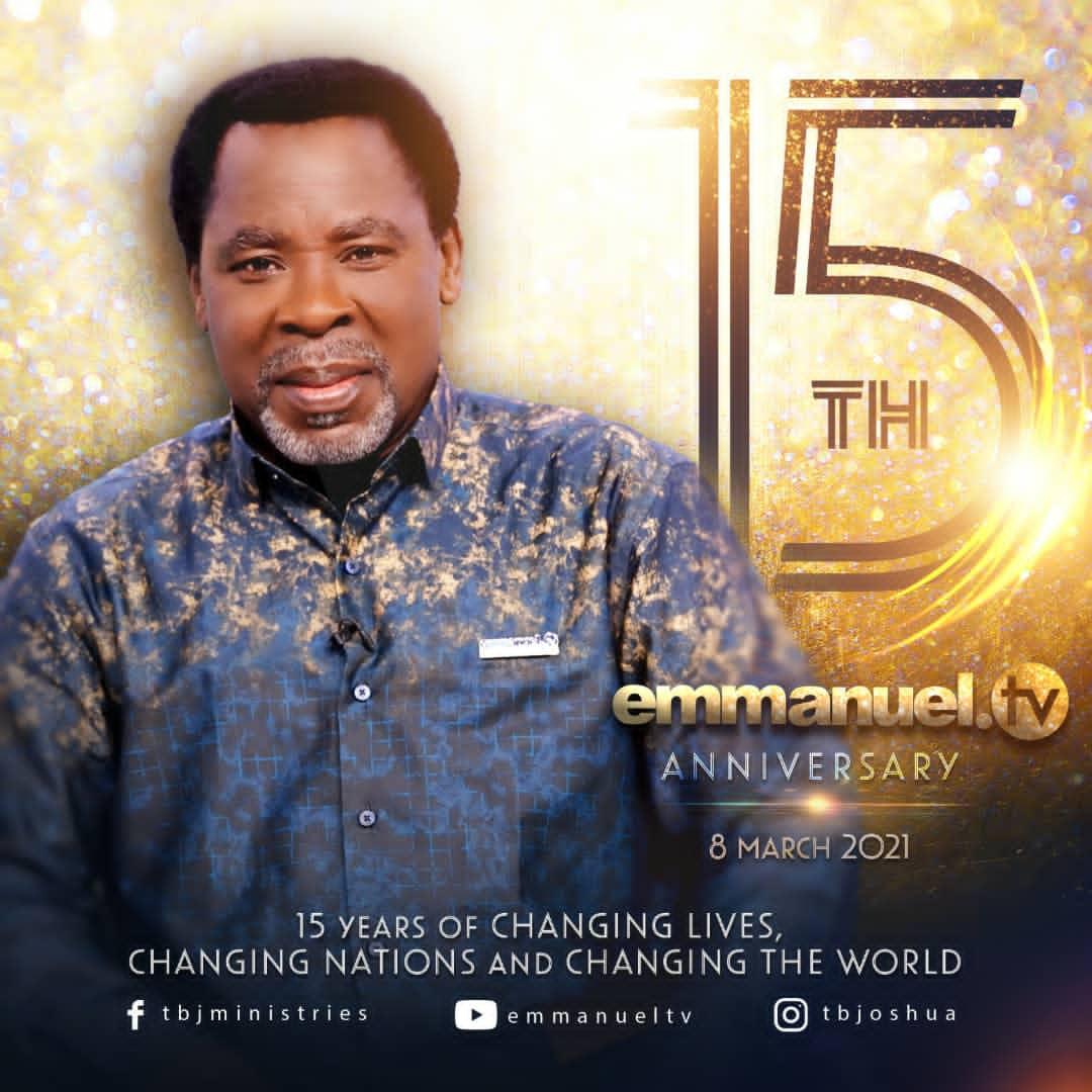TB Joshua's Emmanuel TV Celebrates 15th Anniversary