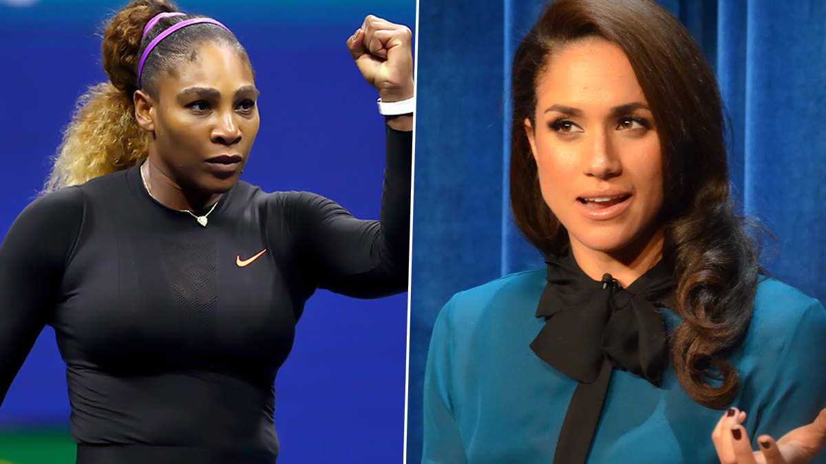 Serena Williams Joins German Poet, Others In Outpour Of Support For Meghan Markle