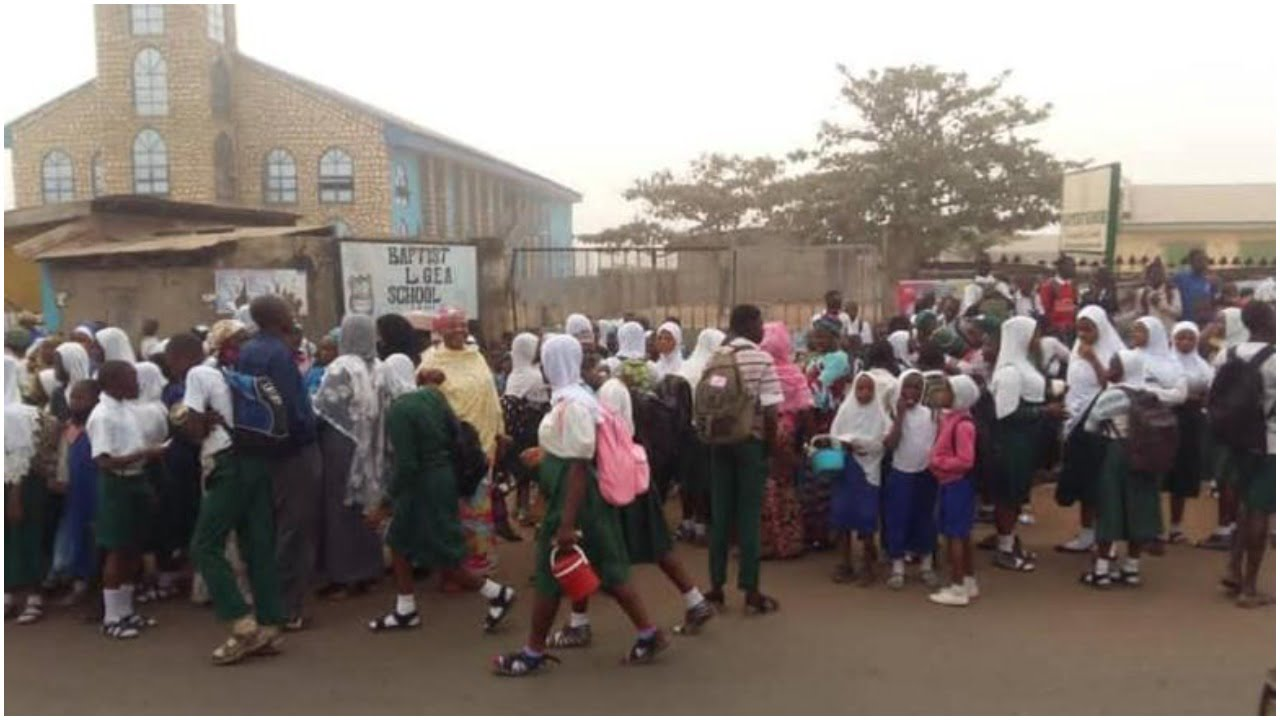 Kwara Hijab Crisis Worsens As Hoodlums Attack Christian Schools, Churches, Shops