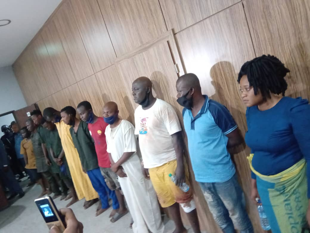 At Last, DSS Produces In Court 12 Aides Of Igboho