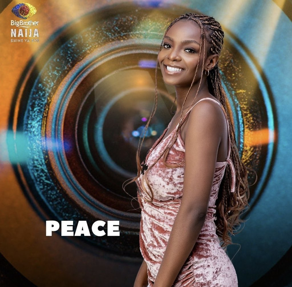 How Peace Became BBNaija 'Shine Ya Eye' First Head Of House