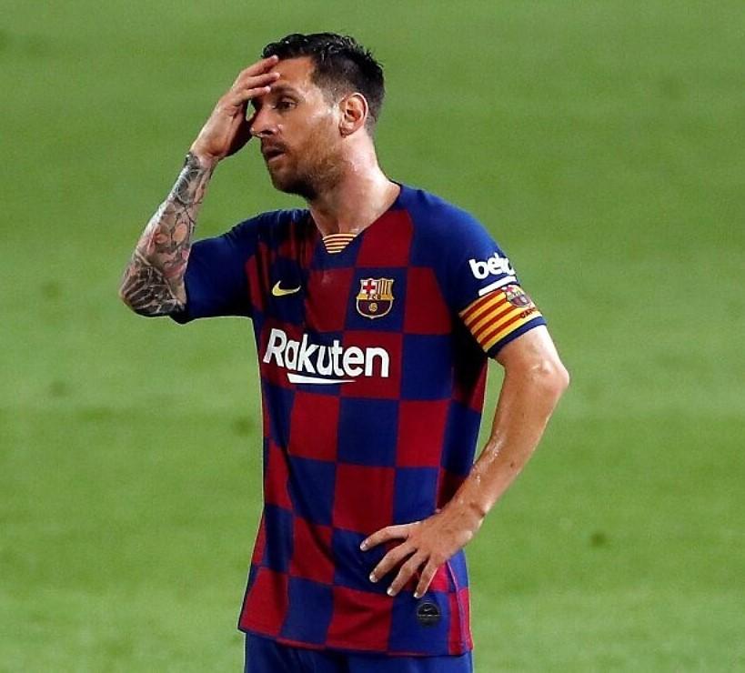 Barcelona Ban Lionel Messi