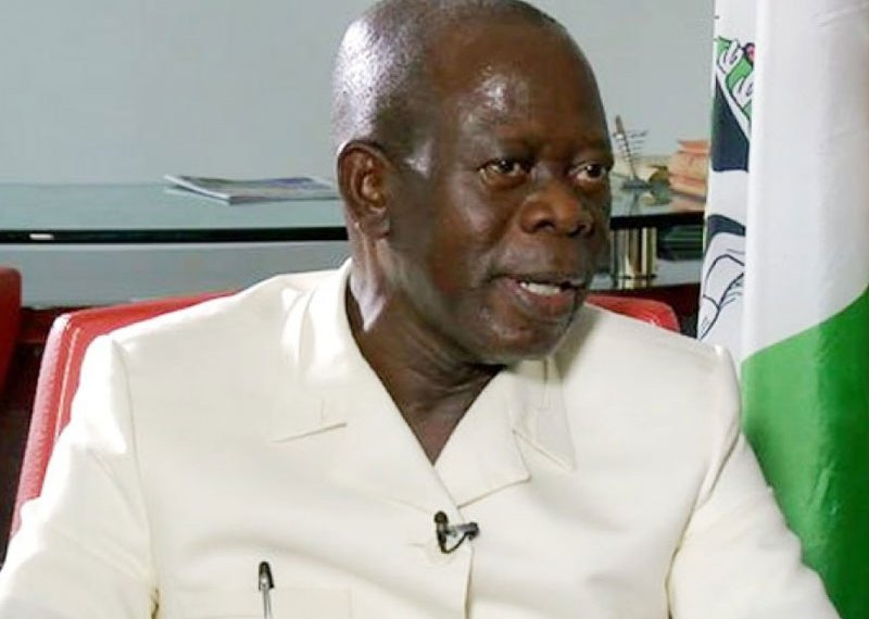 I Don't Want To Return As APC Chair - Oshiomhole