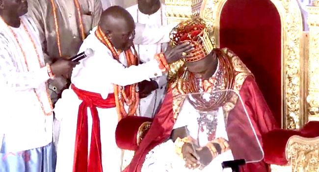 Tshola Emiko Crowned As Olu Of Warri
