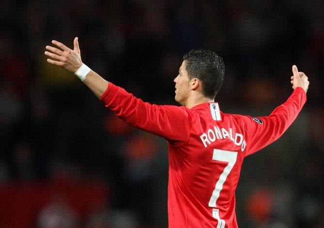 MAN-U: Cristiano Ronaldo To Wear No7 Jersey