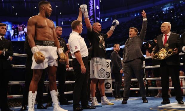 Anthony Joshua Loses Heavyweight World Champion Title