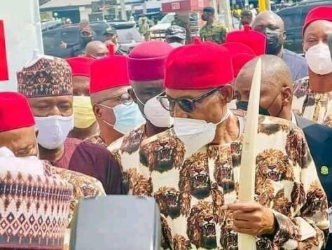 Buhari Promises To Help Uzodinma Fight Insecurity, Develop Infrastructure