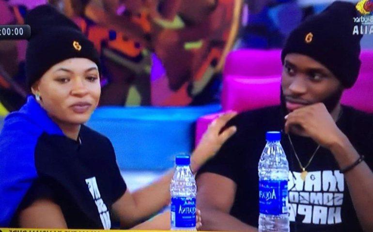 BBNaija: Emmanuel Confronts Liquorose Over Change Of Attitude
