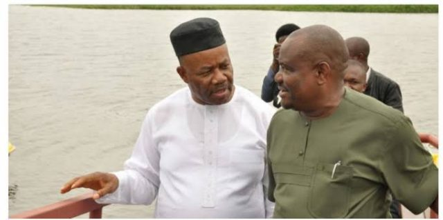 Wike , Akpabio Attack Each Other In Rivers