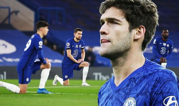 Marcos Alonso Confirms He No Longer Want To Take A kneel Before Matches