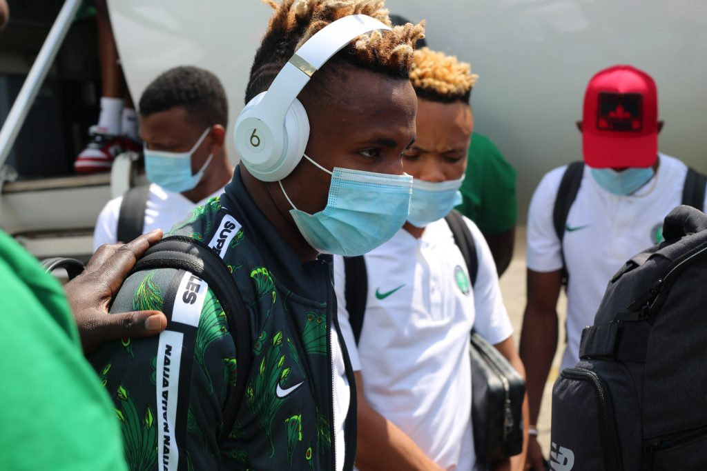 Key Players Absent As Super Eagles Land In Cape Verde