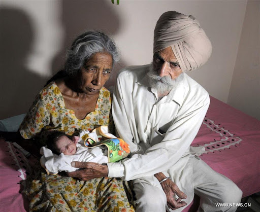 70-year-old Woman Gets First Child After IVF Treatment