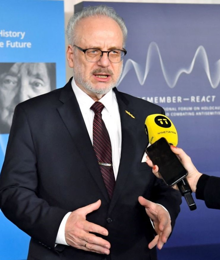 Seven Months After COVID-19 Vaccination, Latvian President Tests Positive