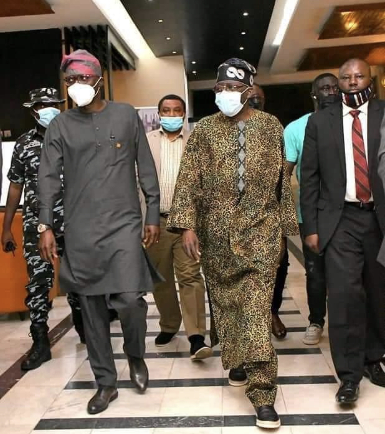 Tinubu Returns To Lagos After Surgery In London